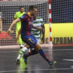 Dyego Barca Sporting Lisboa @FCBfutbolsala
