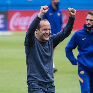 Lluis Cortes Barca femeni FC Barcelona