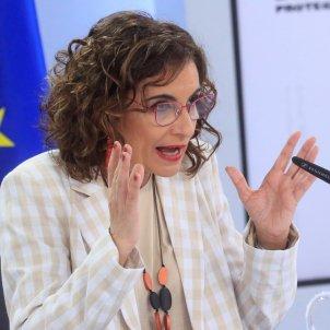 Maria Jesus Montero ministra hacienda portavoz gobierno - Efe