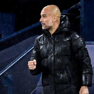 Pep Guardiola celebra Champions EFE