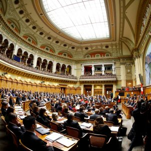 Parlamento Suiza represión Espanya Catalunya / ACN