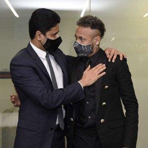 Neymar Al Khelaifi renovación PSG / PSG