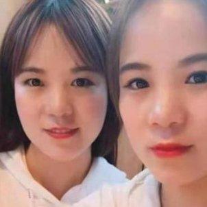 Hermanas gemelas chinas / ENANYANG