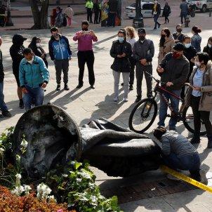 estatua Gonzalo Jimenez de Quesada Colòmbia EFE 2