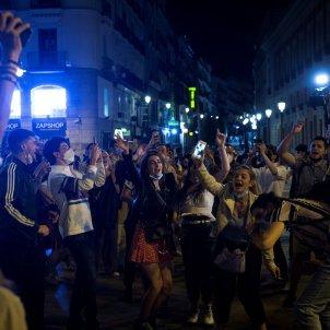 Madrid EFE Estat d'alarma toc de queda