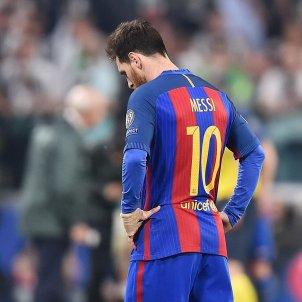 Leo Messi Barça Juventus Champions League Efe