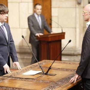 Presa de possessió del nou Govern de la Generalitat