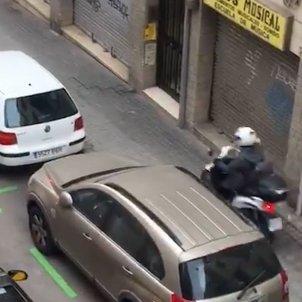 Motos vorera Guinardó 2