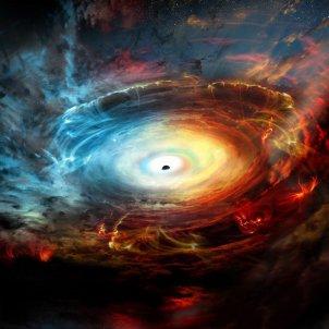 forat negre EFE