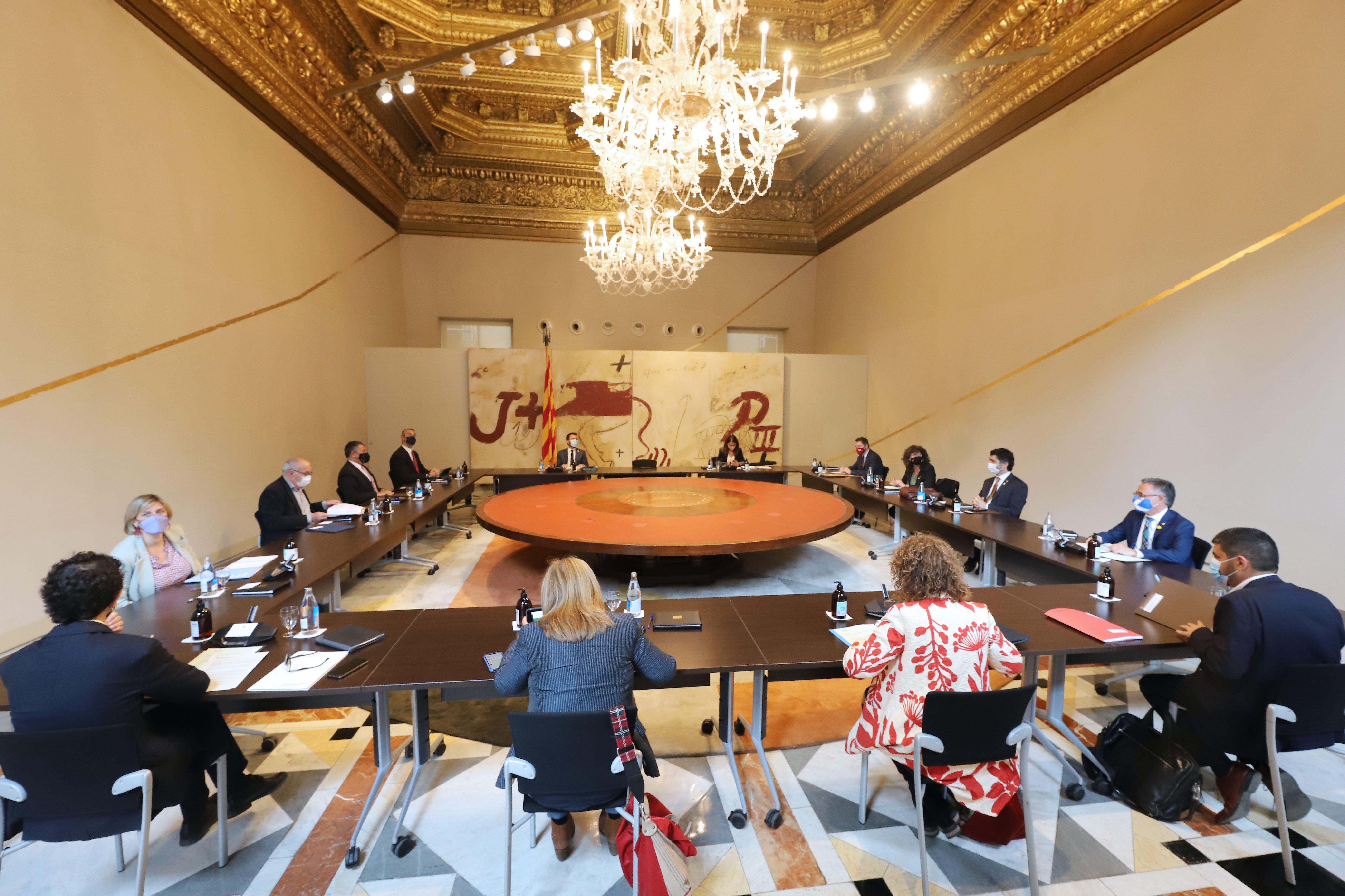 L'acord ERC-Junts: conselleries que s'intercanvien, es fusionen i es creen