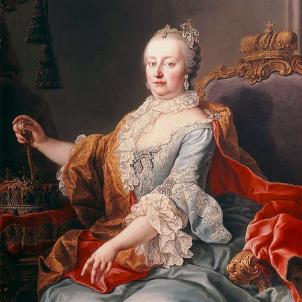 Neix Maria Teresa d'Àustria, que hauria pogut ser reina dels catalans. Retrat de Maria Teresa. Font Acadèmia de Belles Arts de Viena