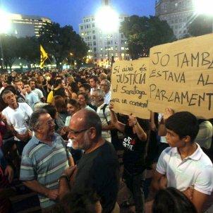 15M plaça catalunya 2011 - EFE