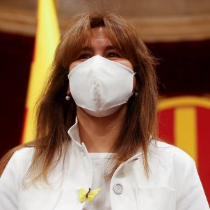 Laura Borràs ple presidenta parlament junts per catalunya / EFE
