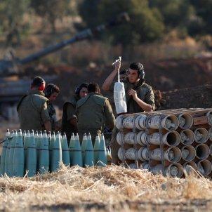 Artilleria israeliana frontera Gaza   EFE