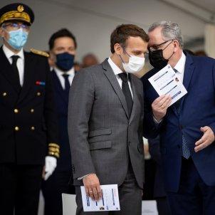 Emmanuel Macron Richard Ferrand  EFE