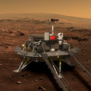 explorador  Zhurong China Marte CSNA