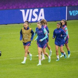 Entrenamiento Barça Chelsea FCB