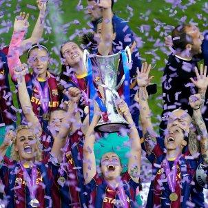 barça copa celebracio champions / EFE