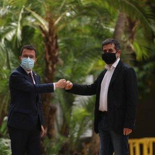 Pere Aragonès y Jordi Sànchez acuerdo investidura Sergi Alcàzar 4