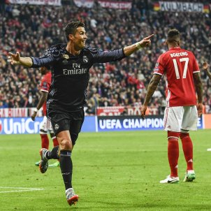 Cristiano Ronaldo Reial Madrid Bayern Champions EFE