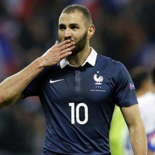 Karim Benzema Francia seleccion Europa Press