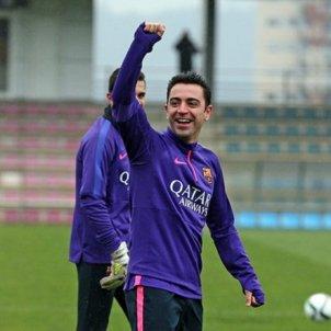 Xavi Hernández Barça Europa Press