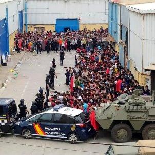 crisi migrantes ceuta marruecos españa - efe