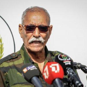EuropaPress / filed 27 february 2021 algeria tindouf sahrawi president brahim ghali