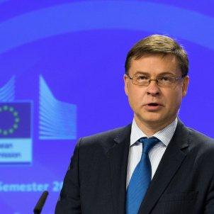 Vicepresident Ubion Europea Valdis Dombrovskis / ACN