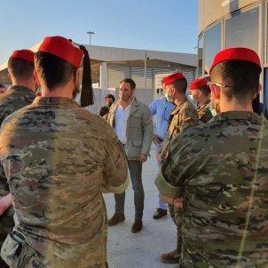Abascal militares Ceuta Europa Press