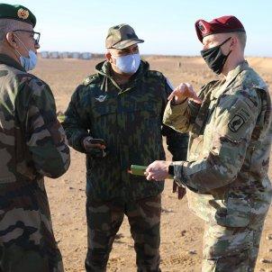 militares estados unidos marruecos maniobras conjuntas african lion foto Maj. Cain Clayton