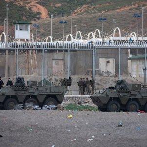 ceuta frontera marroc militars - EFE