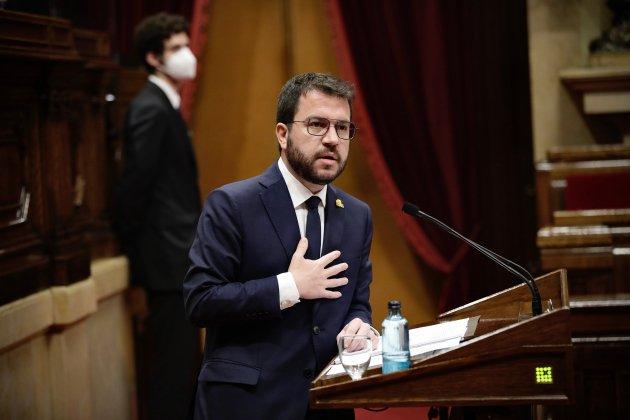 Pere Aragonès pleno investidura ACN