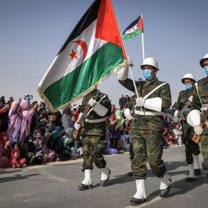 desfile militar sahara occidental frente polisario - STR / Dpa