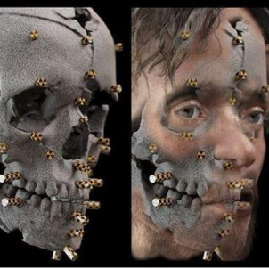 Reconstrucció facial del noi d'Indika. Font Arxiu d'ElNacional