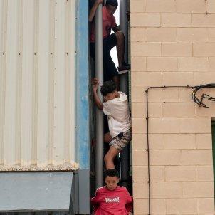 el tarajal ceuta frontera menors marroc immigrants efe