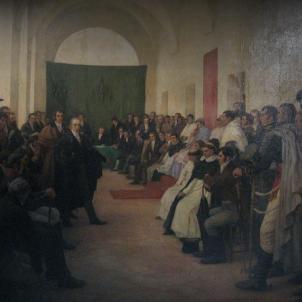Els independentistes argentins expulsen el virrei espanyol. Representació del Cabildo. Font Arxiu d'ElNacional