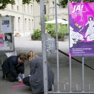 Preparació de la jornada de consultes a Suïssa / EFe