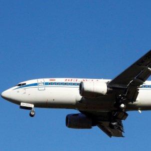 Avión Belavia compañía bielorusa EFE