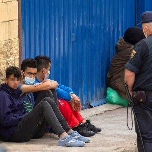 menores ceuta inmigración EFE