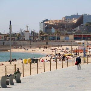 Playa de Nova Icària en Barcelona / ACN