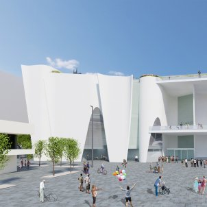Hermitage Barcelona 2 Render (c) Toyo Ito & Associates, Architects