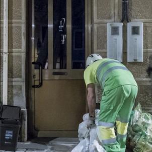 recogida basura sarria / ajuntament barcelona
