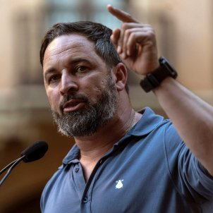El presidente de Vox, Santiago Abascal, / EFE