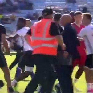 Bastia Olympique Lió ultres Captura pantalla