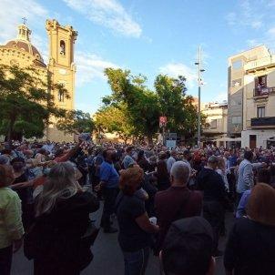 Porta a Porta Sant Andreu / Manifestación contra Ada Colau servicio de recogida de basura