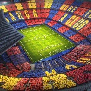Mosaic Camp Nou Barça Juventus FC Barcelona