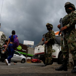 cali militares colombia efe
