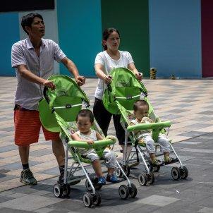 Pareja China dos hijos natalidad Efe