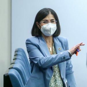 EuropaPress 3738768 ministra sanidad carolina darias salida rueda prensa posterior reunion